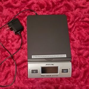 ACCUTECK POSTAL SCALE MAX 50LBS!